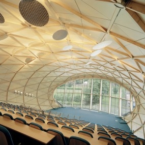 Interior of Egg lecture theatre