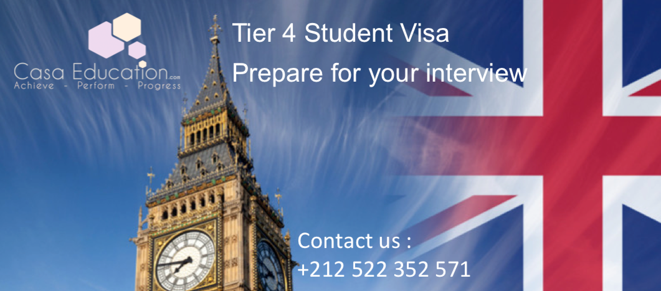 Visa Interview for Tier 4 visa - CasaEducation