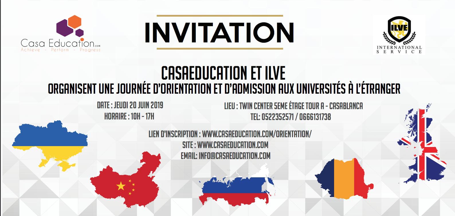 Invitation Event - Casaeducation