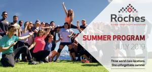 Les Rochers - CasaEducation Summer 2019
